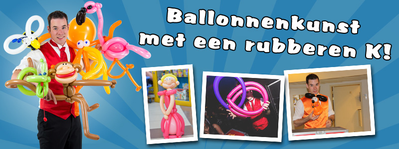 Ballonartiest Jerry de Ballonheer