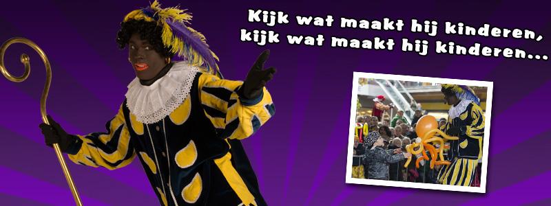 Zwarte Piet - Ballonnenpiet