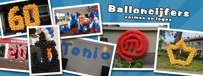 Balloncijfer / ballonlogo