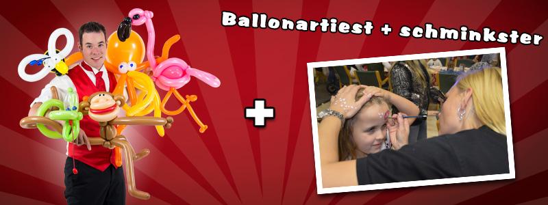 Ballonartiest & Schminkstand