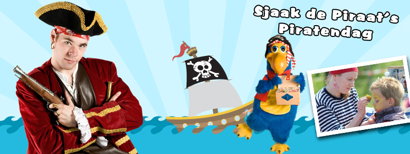 Sjaak de Piraat's Piratendag