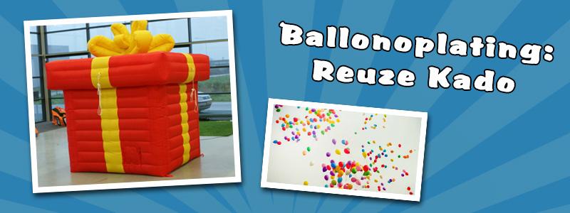 Ballonoplating reuze doos (opblaasbaar)