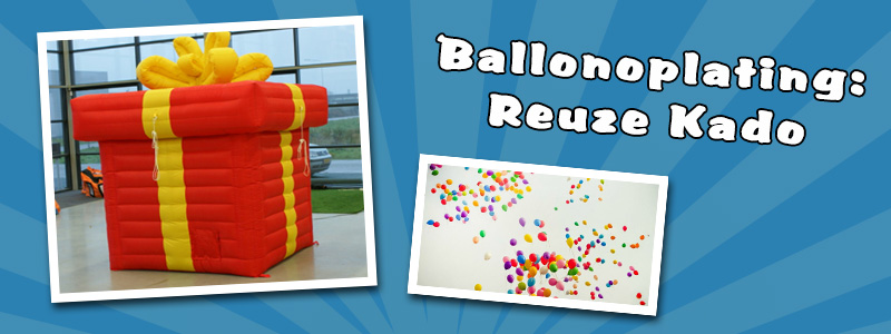 Giant balloon Box (inflatable)