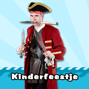 Sjaak de Piraat's Piratenfeest - 2 uur