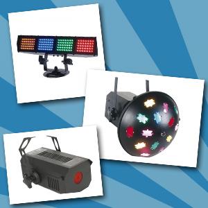 Lichteffecten - set