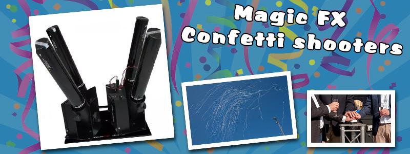 Magic FX Confetti Shooter (elektrisch)